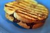 Chocolate marmalade sandwich