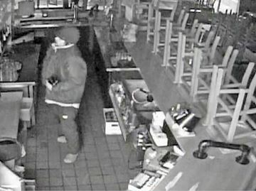 Police Release Images Of Rock Bandit