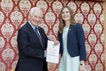 Duke of Edinburgh's International Award presentation