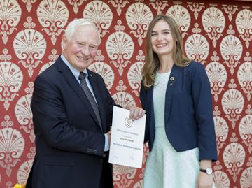 Duke of Edinburgh's International Award presentation