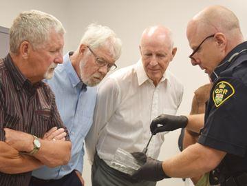 Ink, powder, DNA: A forensic arsenal