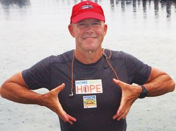 Ironman challenge pales in comparison to facing homelessness for Oakville resident