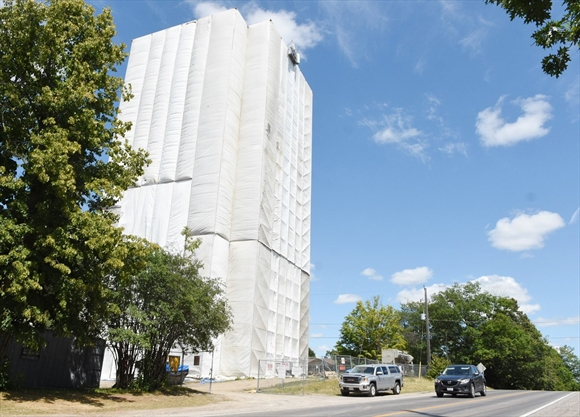 What's Going On Here? Update on Sherbrooke Street water tower