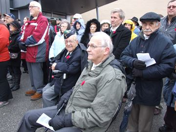 Remembrance Day in Innisfil