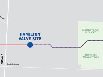 New Union Gas pipeline to run through Carlisle's Courtcliffe Park