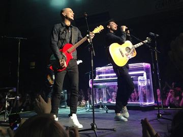 Canadian band Hedley performed at the Peterborough Memorial Centre on March 7.