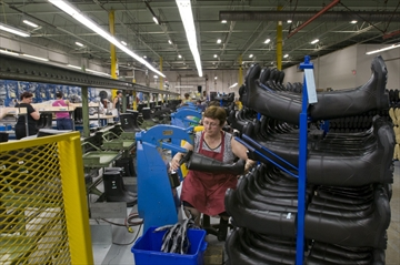 Baffin, rubber boots manufacturing