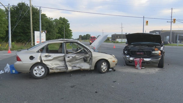 Woman killed after two-vehicle crash on Highway 6 in Caledonia
