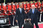 President Obama arrives