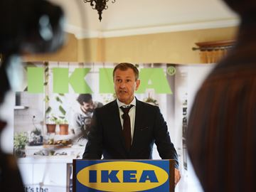 Ikea Announcement