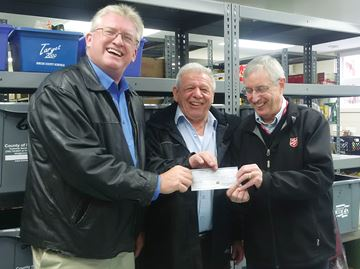 CCL workers donate to Midland food bank