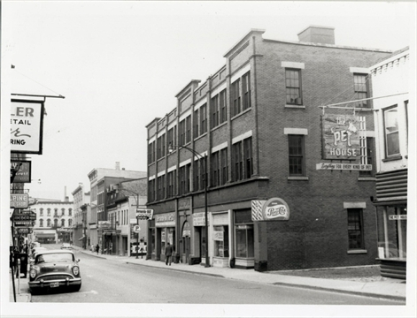 The Cut Waterloo Restaurants >> Flash from the Past: Charles Street extension cut through two blocks of downtown Kitchener ...