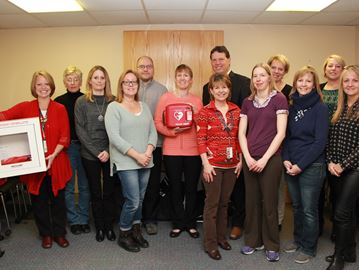 New AEDs support preparedness for cardiac arrests