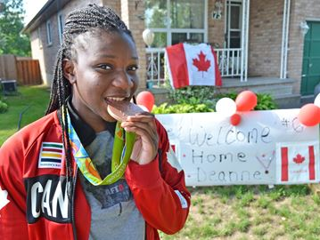 Alliston soccer player brings home bronze medal from Rio Olympics