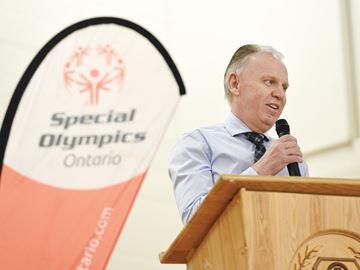 Special Olympics Ontario Glenn MacDonell