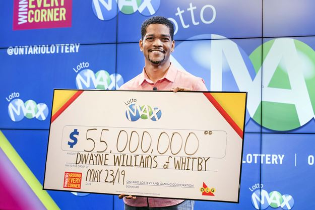 Lottery winner 'fell to the floor' when he told his wife about $55M