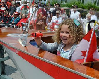Canada Day bubbles
