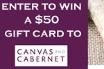 Win a $50 gift card to Canvas and Cabernet in Barrie
