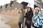 Icy schoolyards