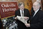 Former Oakville Mayor Harry Barrett receives heritage conservation award