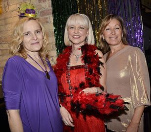 Teresa Madaleno, from left, Carolyn Hamill and Corinna Jones.