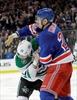Rangers' Kreider fined for hitting Stars' Eakin with helmet-Image1