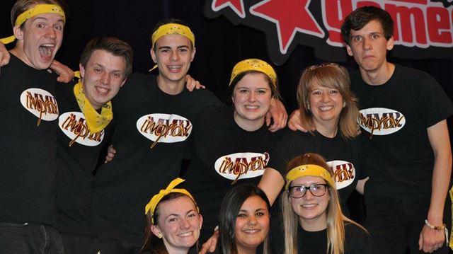Burlington high school team improvises its way to fourth ...