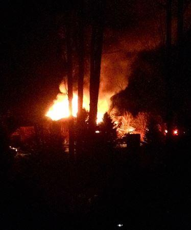 Fire guts Wasaga Beach home
