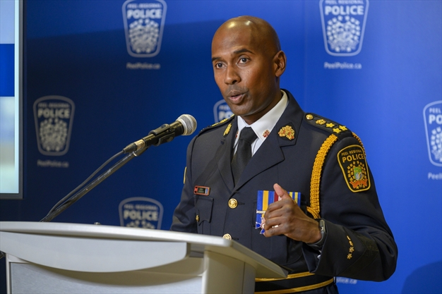 4 talking points during Peel Police Chief Nishan Duraiappah's first community town hall in Brampton