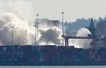 Vancouver port fire out; investigation begins-Image1