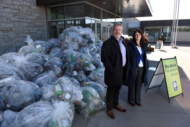 Single-use plastics pile up in Durham