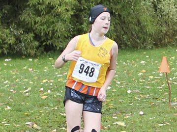 Meaford Coyotes take command of base cross county race