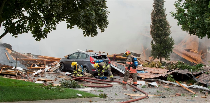 Woman Killed In House Explosion On Sprucedale Crescent In