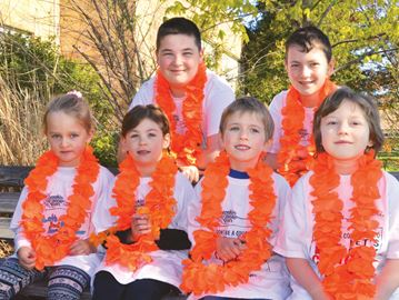 Rankin Cancer Run person for participants of all ages