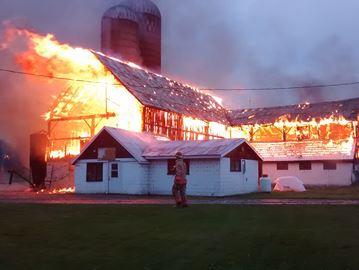 Denyes Road Fire