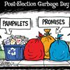 Today's cartoon: Post-election garbage day