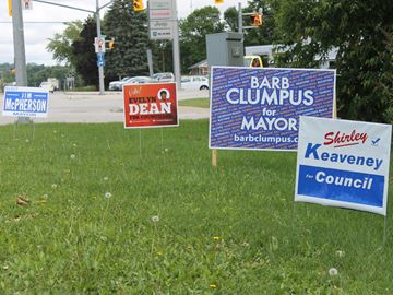 Crowded ballot for Meaford election