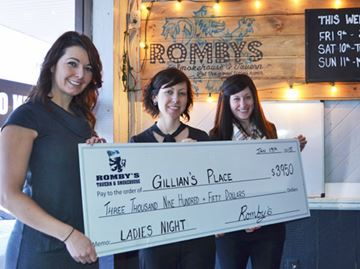 Romby's ladies give back
