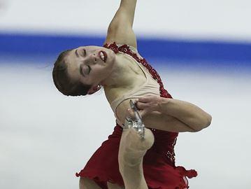 National silver medalist figure skater trains in Oakville