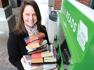 Barrie's Green Reads expand to GO stations