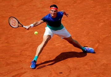 Raonic advances to fourth round at French Open-Image1