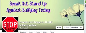 Facebook page assists parent with bullying issue