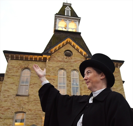 Spirits loom in Newmarket's Old Town Hall