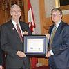 Dr. Bob Scott and Bill Gates