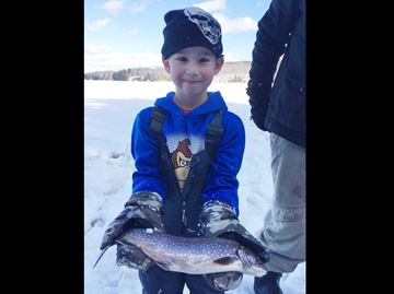 Ice fishing in Huntsville