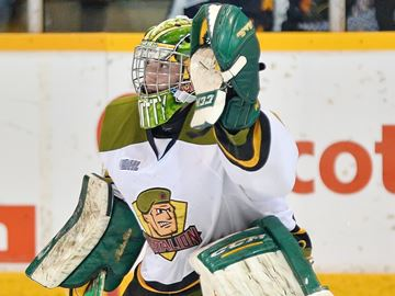 Oakville's Smith backstops North Bay to OHL East Conference title