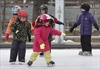 PHOTOS: Skating lessons at the waterfront