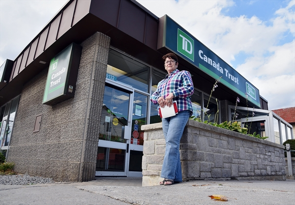 Mount albert fumes as td bank announces it 39 s leaving town for Td garage services