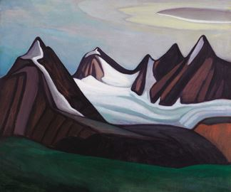 Mountain and Glacier by Lawren Harris