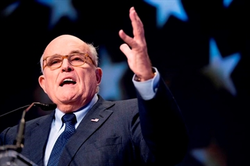 Rudy Giuliani speaks at the Iran Freedom Convention for Human Rights and democracy in Washington on May 5, 2018. A battle between Rudy Giuliani and one of his ex-wives has cast a spotlight on an issue affecting a growing number of Canadians. The former New York City mayor's efforts to cut spousal support to one of his ex-wives because his income shrunk this year has sparked some interest among older divorcees facing similar battles, says a Toronto family lawyer. THE CANADIAN PRESS/AP, Andrew Harnik
